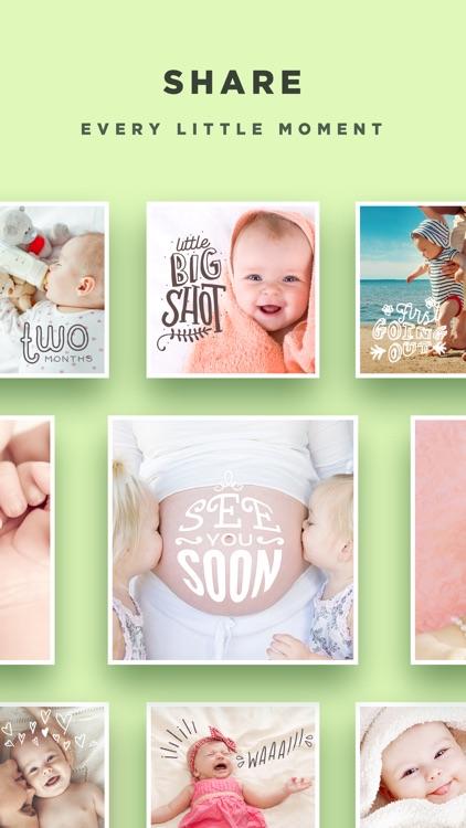 Baby Story - Pregnancy Pics Baby Milestones Photo screenshot-4