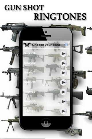 Gun Shot Ringtones screenshot 1