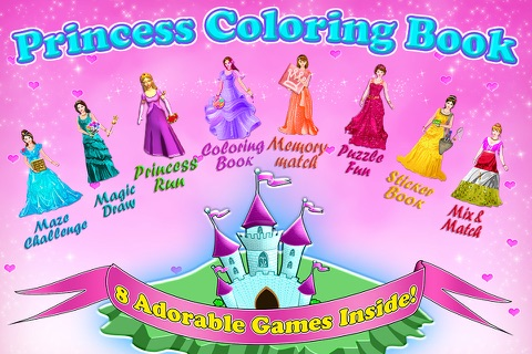 Little Princess Coloring Book! - náhled