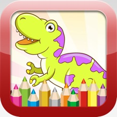 Activities of Dinosaur Coloring Book - Educational Coloring Games Free For kids and Toddlers