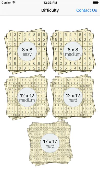 Hitori Puzzlesのおすすめ画像1