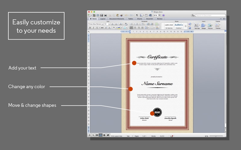 certificate maker for ms word app price drops