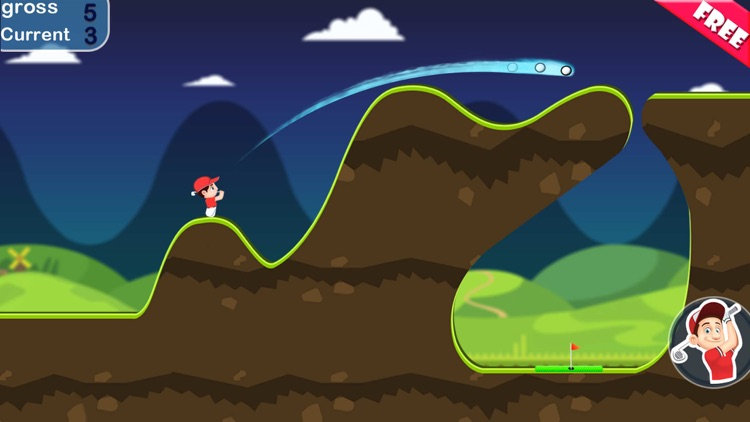 Mini Golf Center: free stickman golf screenshot-4