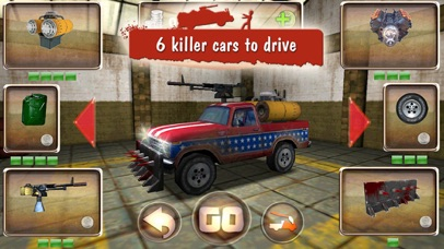 Zombie Derby: Race and Kill screenshot one
