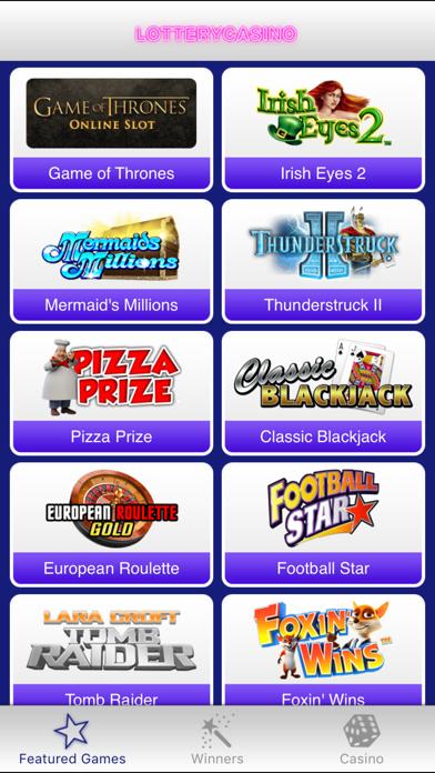 Lottery Casino screenshot two