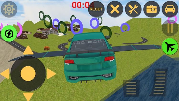 Flying Racing Fever N Furious Car Stunt screenshot-4