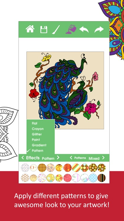 Color Ring-Free adult coloring book and best art therapy for canvas ...