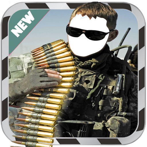 Army Photo Suit- New Photo Montage With Own Photo Or Camera iOS App