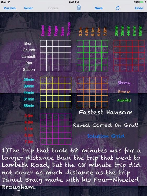 Sherlocks Logic Puzzles