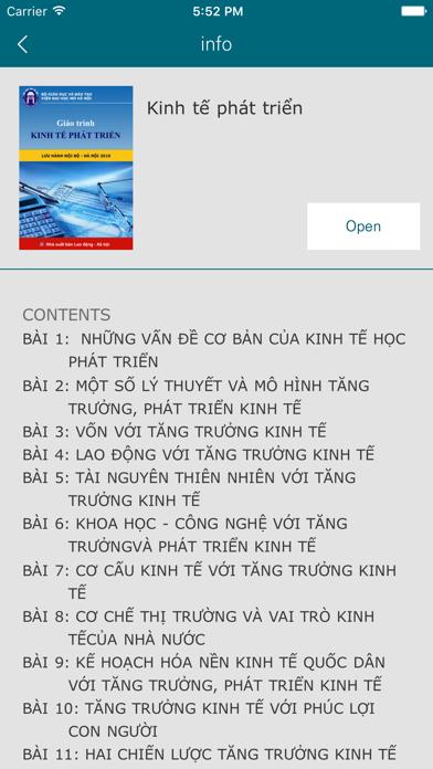 Hanoi Open University E-Learning Books screenshot two
