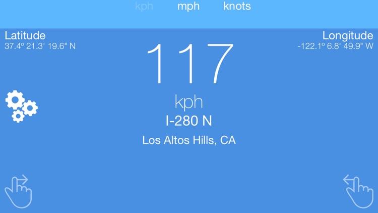 SpeedView - GPS Speedometer screenshot-3