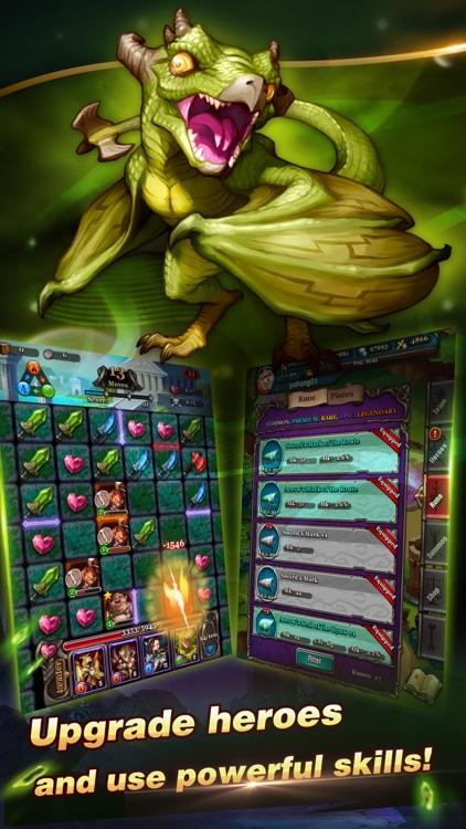 Puzzle & Heroes screenshot-4