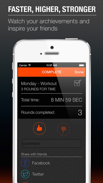 HIIT Workout - training schedule in a week with sport exercise fitness screenshot-4