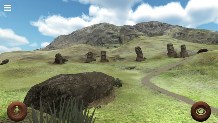 Rapanui 3D: outside Rano Raraku crater in Easter Island to explore the Moais