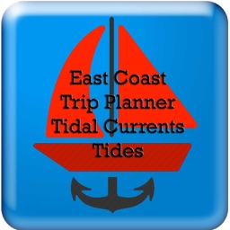 East Coast Trip Planner using Tidal Currents + Tides
