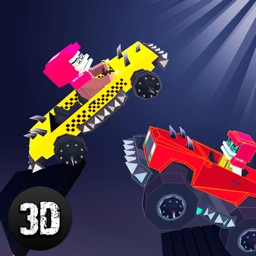 Pixel Car Fighting Arena 3D Full