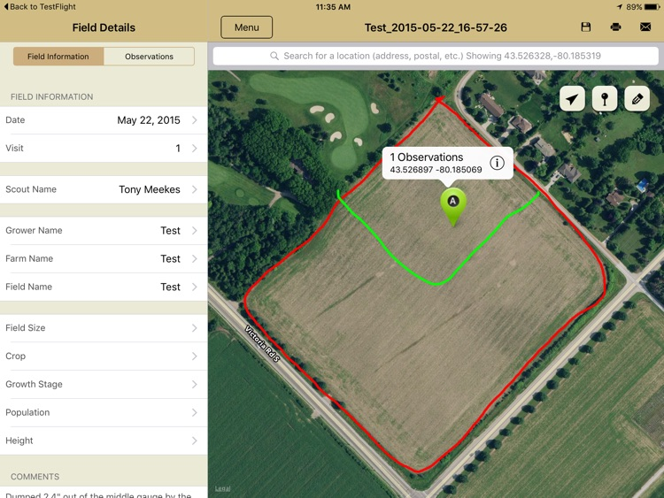 ScoutDoc - Farm Field Scouting