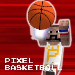 Pixel Basketball - Flick Ball Hero