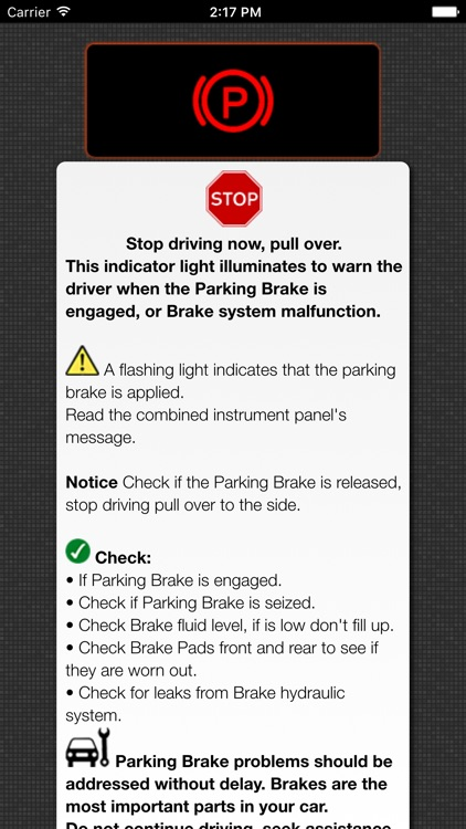 App for Volvo Warning Symbols & Volvo Cars Problems