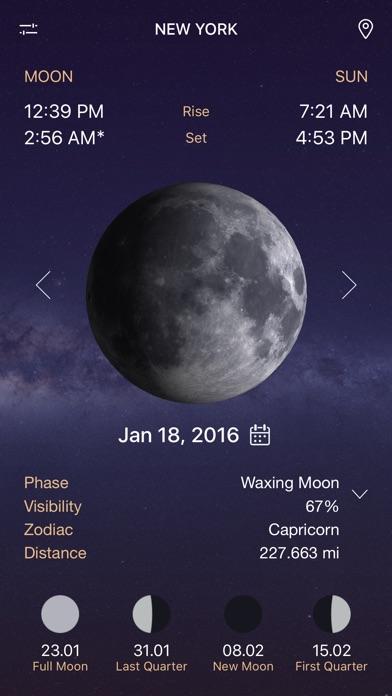 Full Moon - Moon Phase Calendar and Lunar Calendar - AppRecs