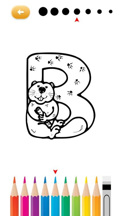 Alphabet Abc Coloring Books Free For Kindergarten And Preschool By Doungjai Olanrukthum