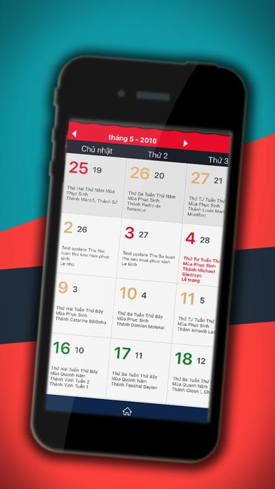 Lịch Công Giáo: lịch ngày lễ trọng, âm lịch, lời Chúa hằng ngày screenshot two