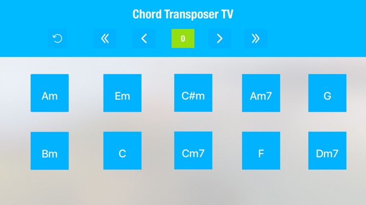 Chord Transposer TV