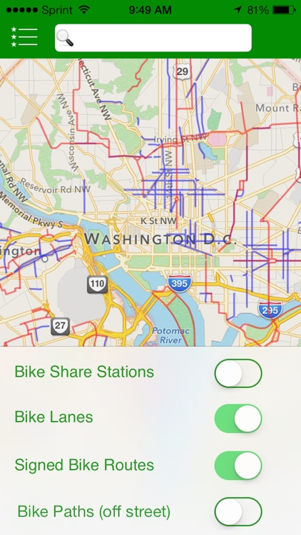 Get There By Bike - Interactive Bike Maps for the Urban Commuter screenshot-4