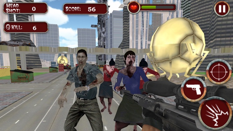 Infected Modern City the Zombie Frontier screenshot-4