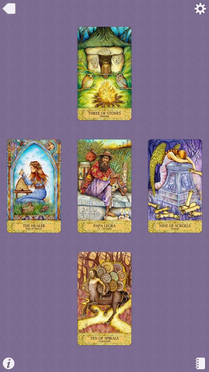 Chrysalis Tarot screenshot-4
