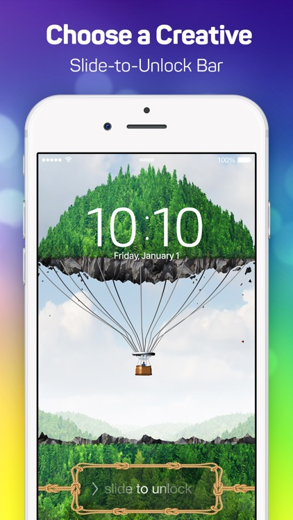 Lock Screen Designer Free - Lockscreen Themes and Live Wallpapers for iPhone. screenshot-3