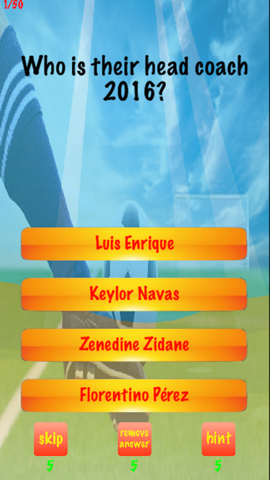 You Think You Know Me? Trivia for Real Madrid screenshot one