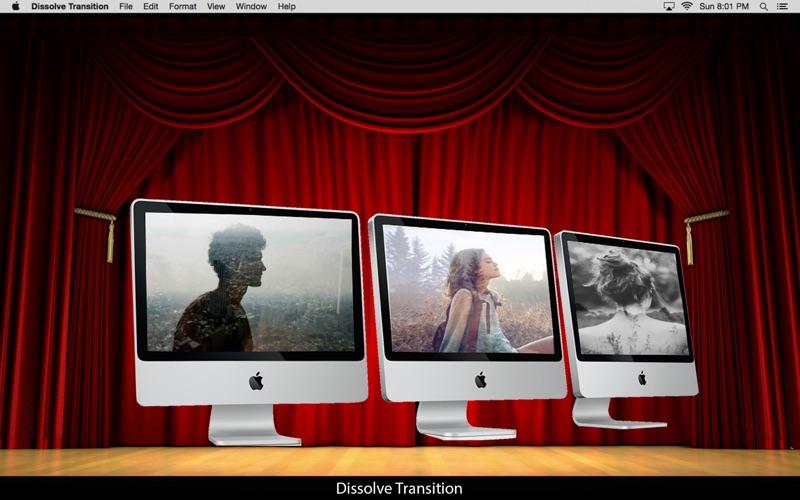 Dissolve Transition: Image blend effect screenshot 1