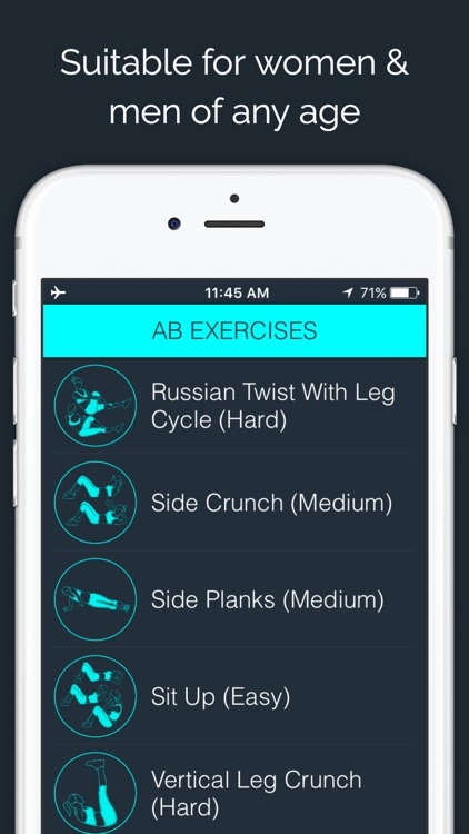 30 Day - Ab Challenge screenshot-3