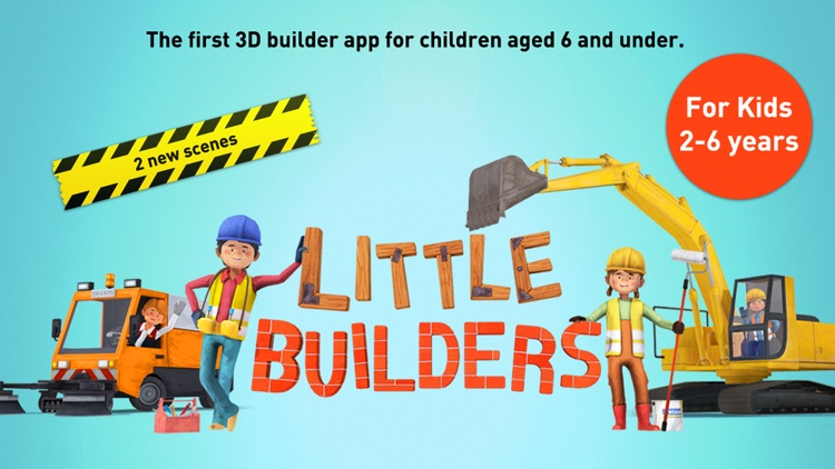 Little Builders for Kids screenshot-0