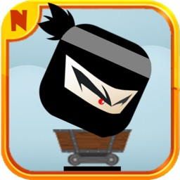 Geometry Ninja Run and Jump