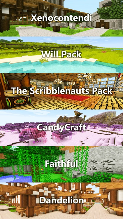 Texture Packs - Pixel Art Collection for Minecraft PE & PC Edition