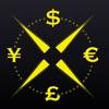 合計 FX - ドルとユーロ為替レート計算機-通貨コンバーター