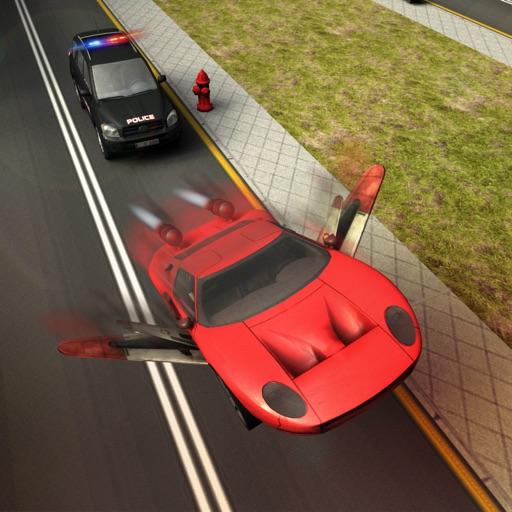 Flying Car Extreme Real Racing 3d Simulator iOS App