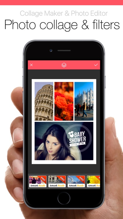 Pic Collage Jointer Grid Pro - Collage Maker & Photo Editor screenshot-4