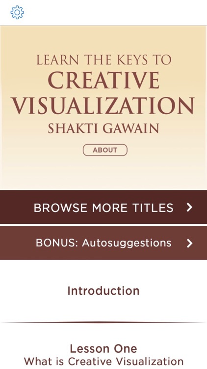 Creative Visualization Meditations by Shakti Gawain screenshot-1