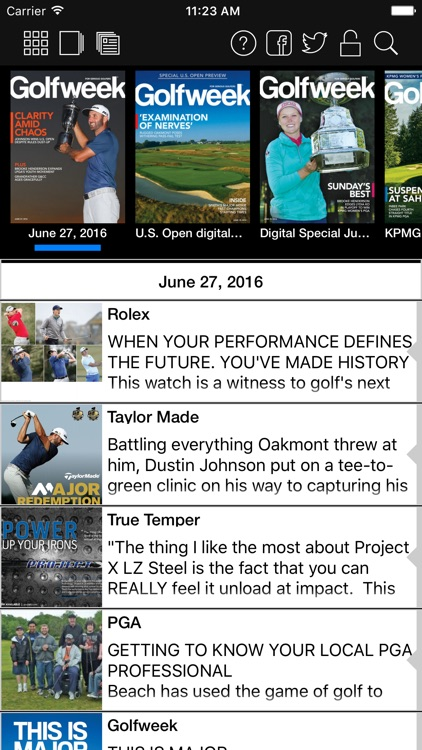 Golfweek Magazine screenshot-0