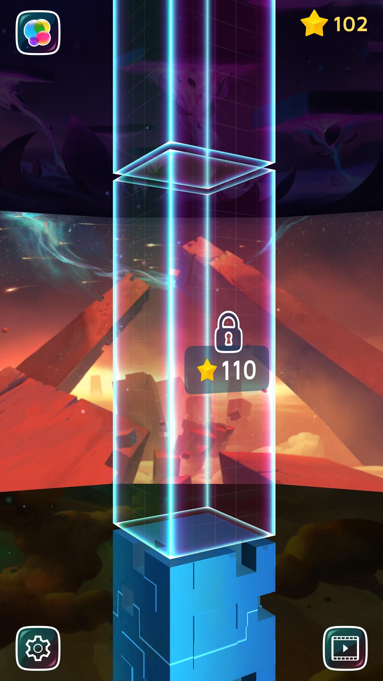Screenshot do app Warp Shift