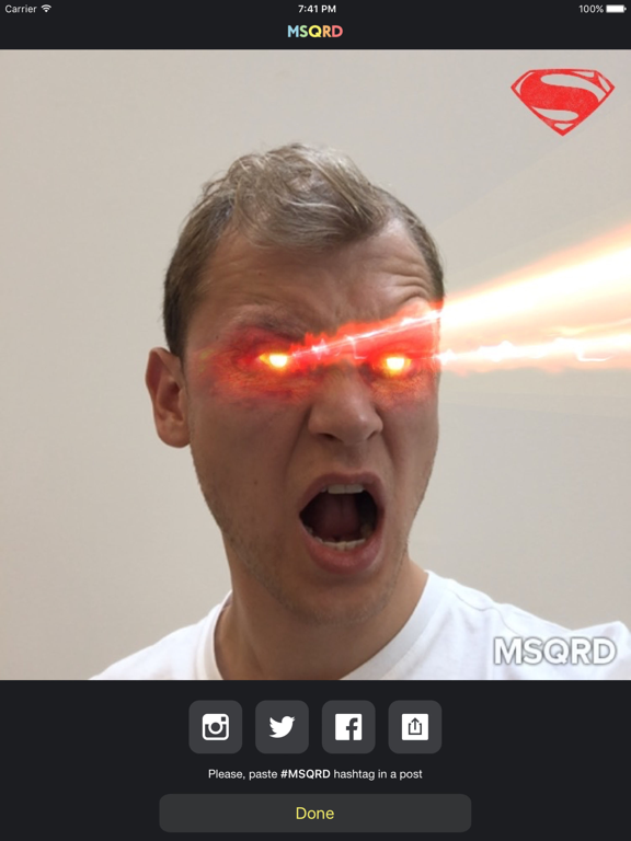 MSQRD — Live Filters & Face Swap for Video Selfies-ipad-4
