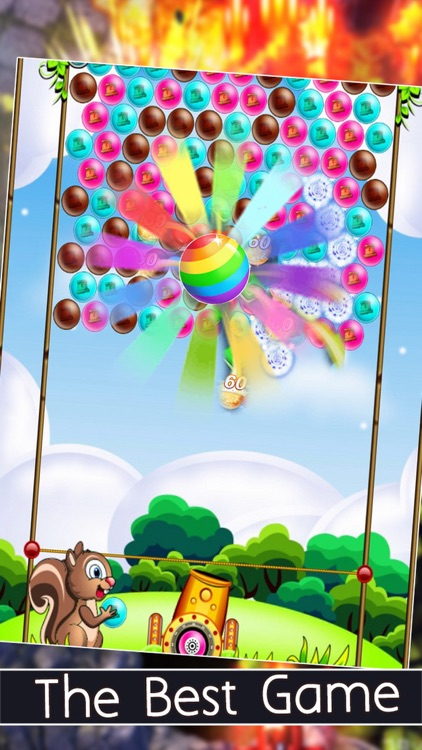 Bubble Popping Sky Deluxe - Puzzle Bubble Edition