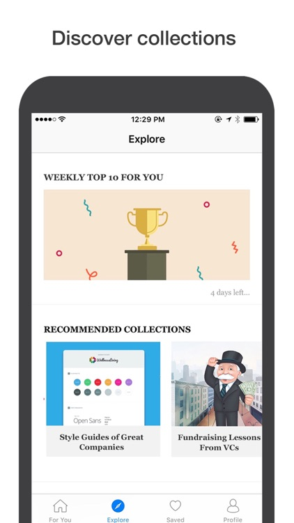 Mybridge: Read top articles in tech
