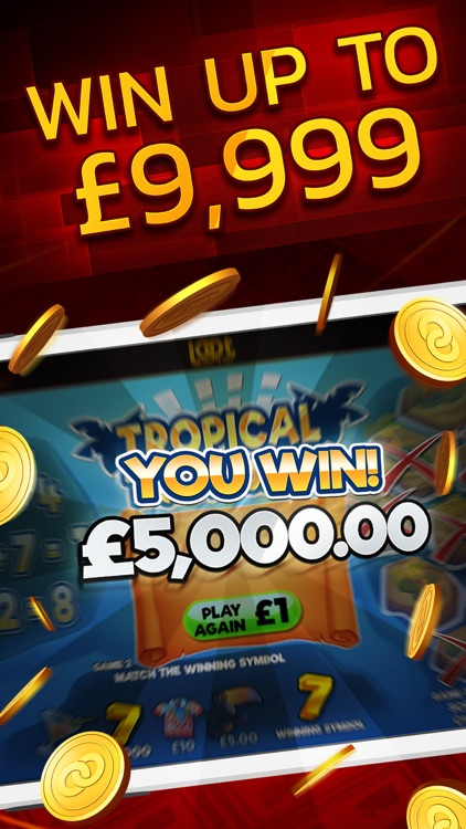 Instant Win Arcade - Real Money Scratch Cards