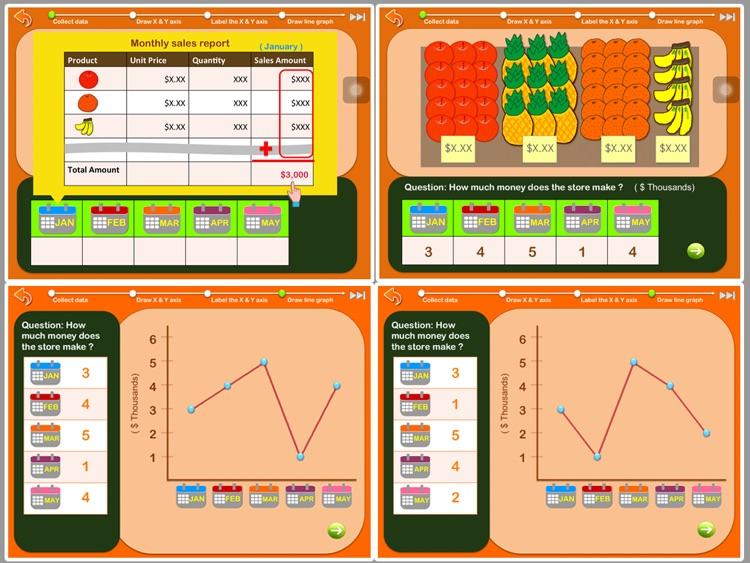 Graphing for kids ( Chart Maker for children ) screenshot-3