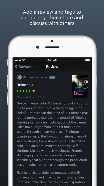 Letterboxd – The social network for film lovers screenshot-3