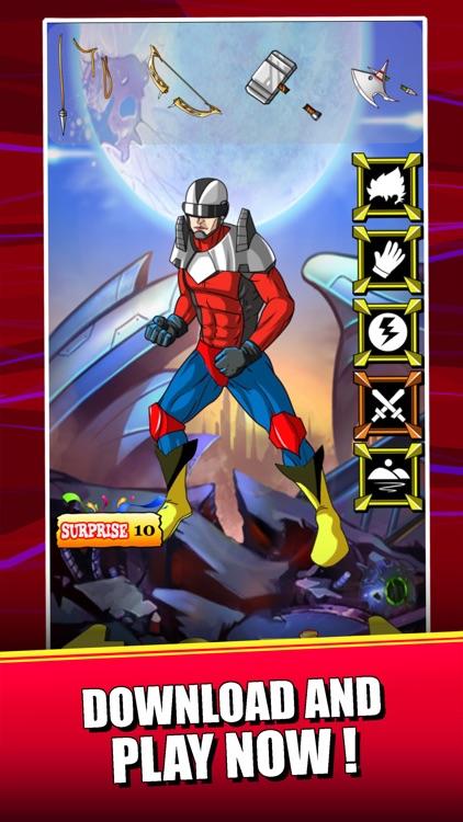 Create Superhero Captain - Dress Up Games For Batman & Superman Edition screenshot-3